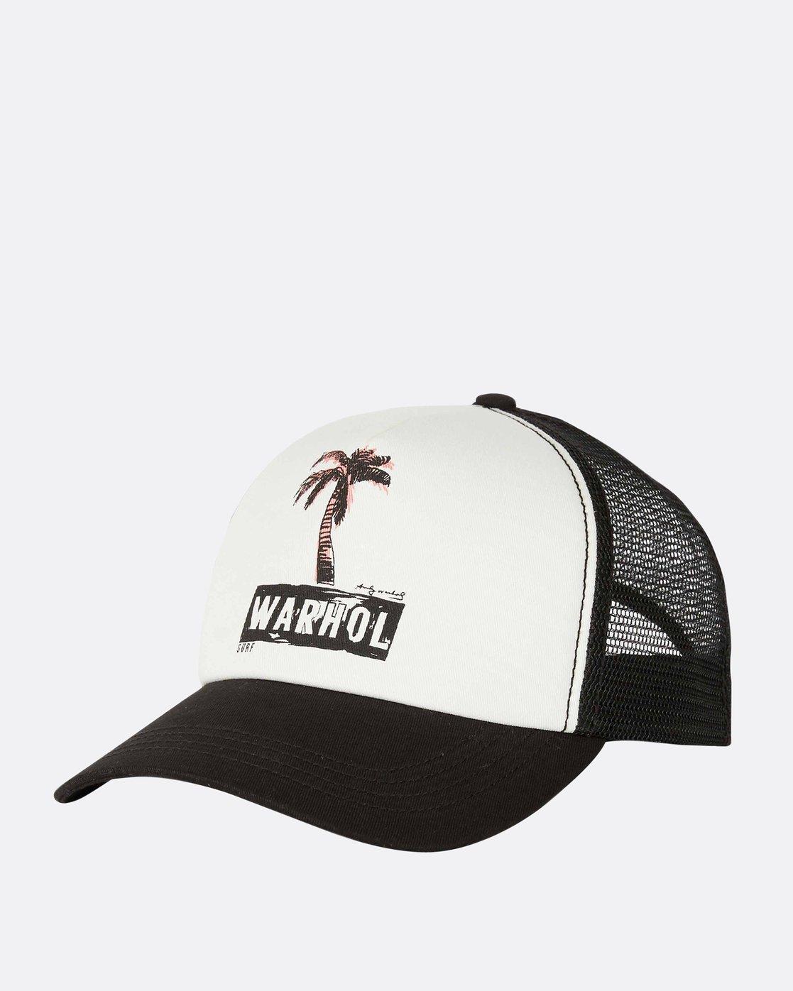 a6d5244b8b5a3f 0 Warholsurf Holly Trucker Hat JAHTLHOL Billabong