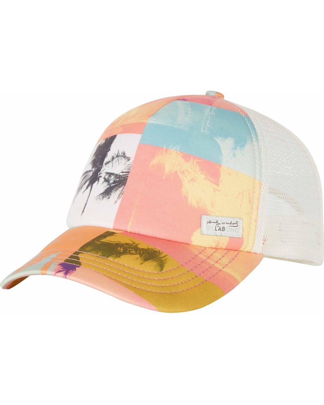 eb9b4ccefd05e4 0 Warholsurf Warhol Trucker Hat JAHTLWAR Billabong