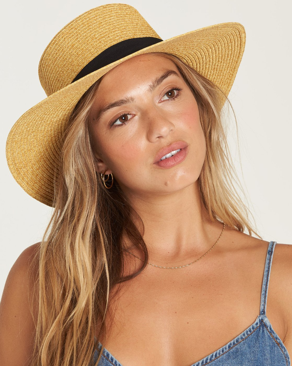 Aboat Time Straw Hat