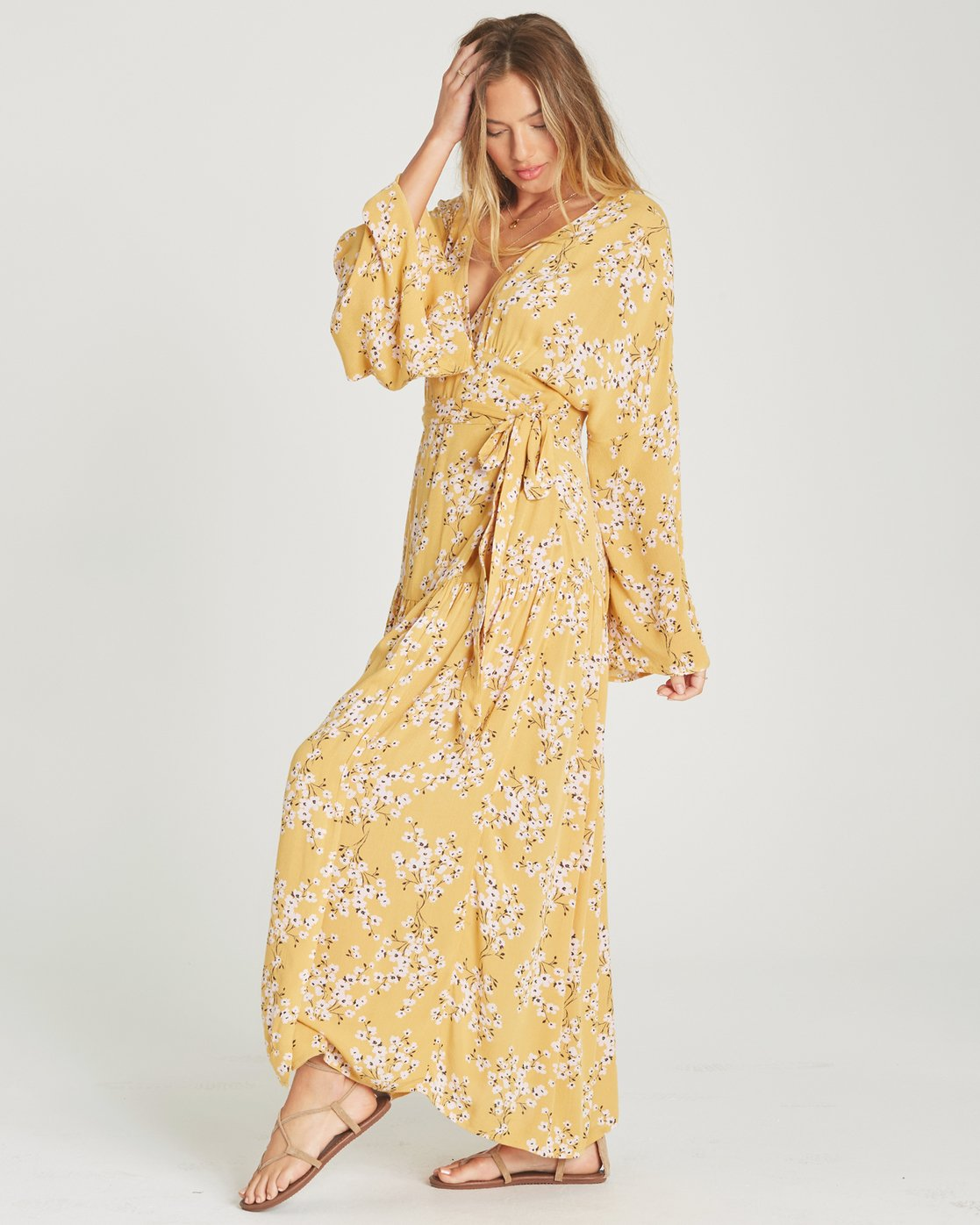3fb3bfa92b3 2 My Favorite Maxi Dress Yellow JD06TBMY Billabong