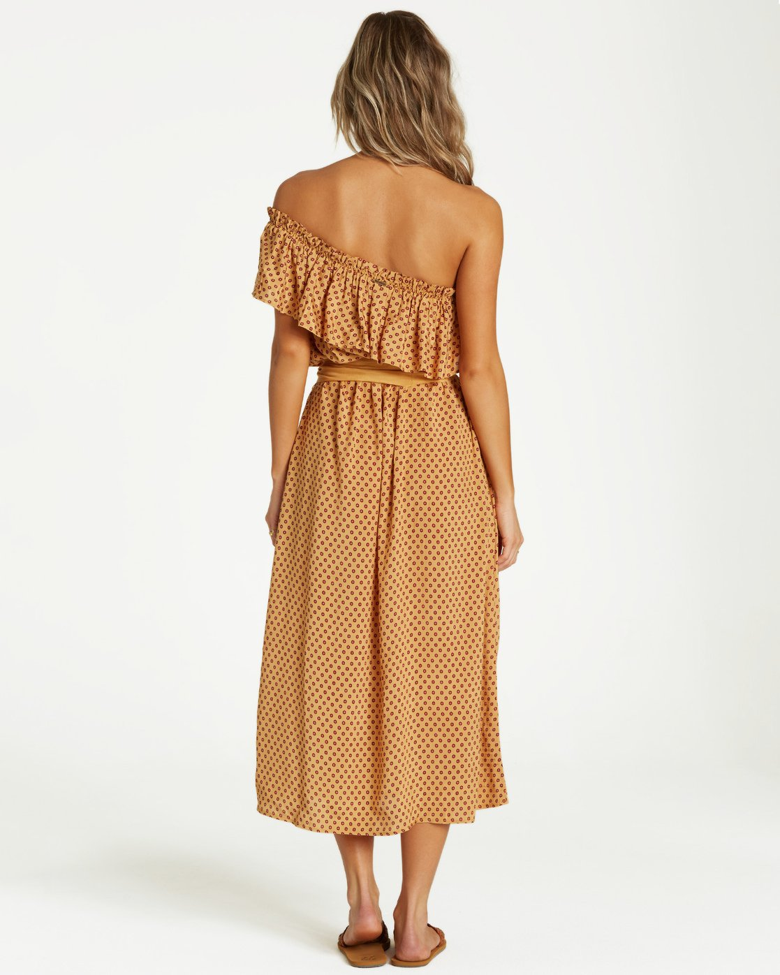 Sash Around Mini Dress