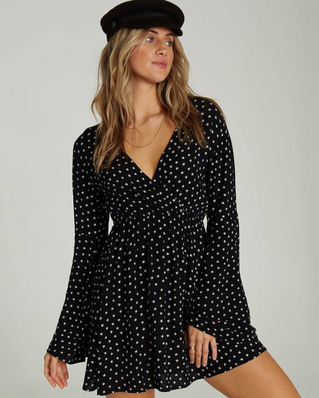 22a9652f1 0 Night Fever Printed Mini Dress JD19SBNI Billabong