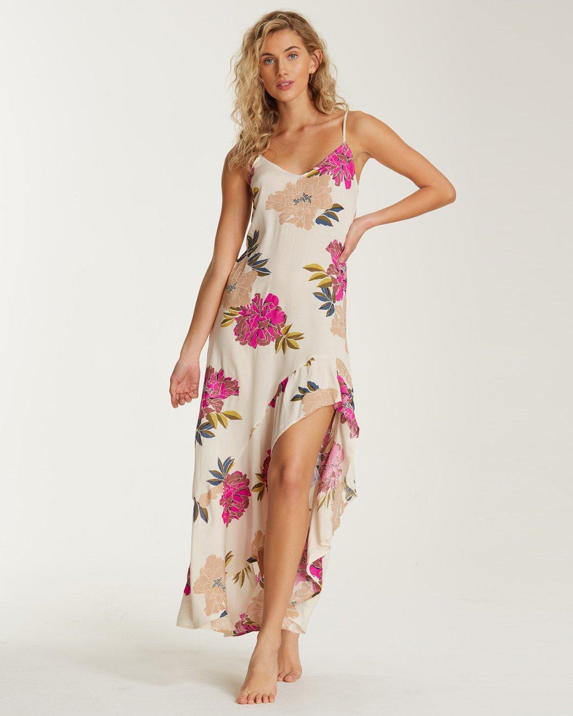Billabong Womens Kick It Up Maxi Dress