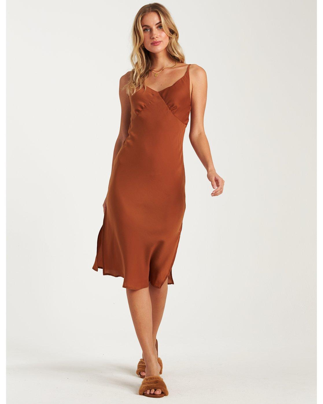 Billabong Womens High Tied Slip Dress