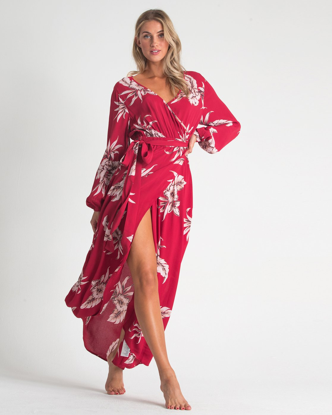 03413b3ba 0 Kauai Maxi Dress Red JD72UBKA Billabong