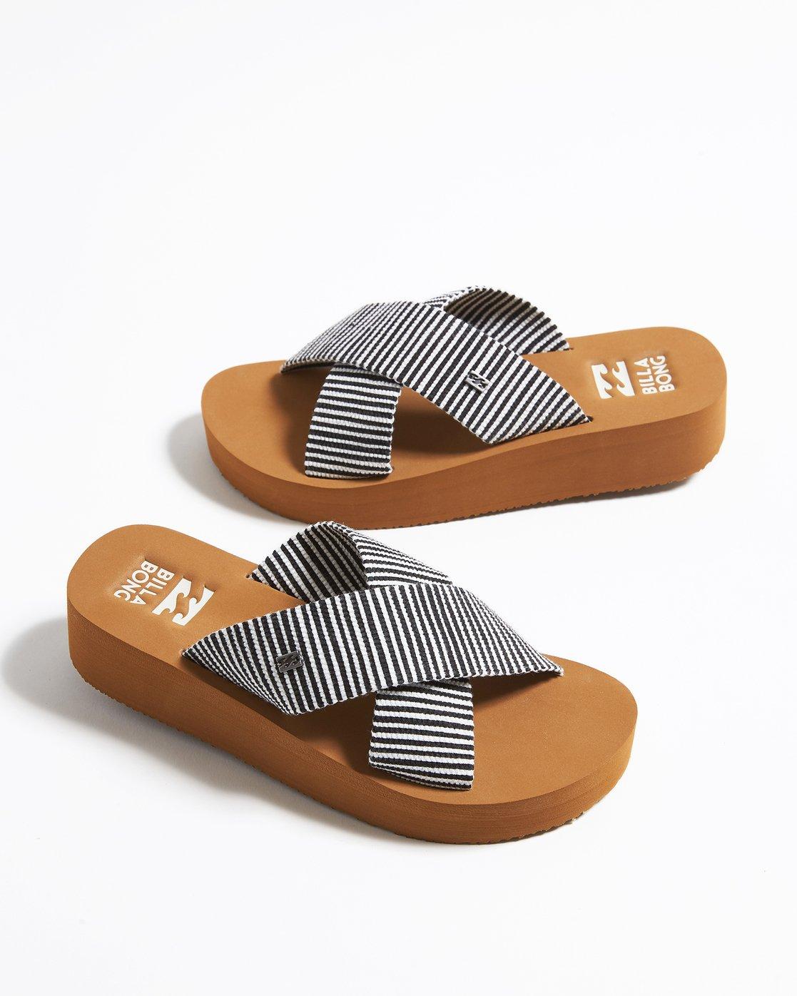 c8ac2793cbaa 0 Boardwalk Sandals Black JFOTTBBW Billabong