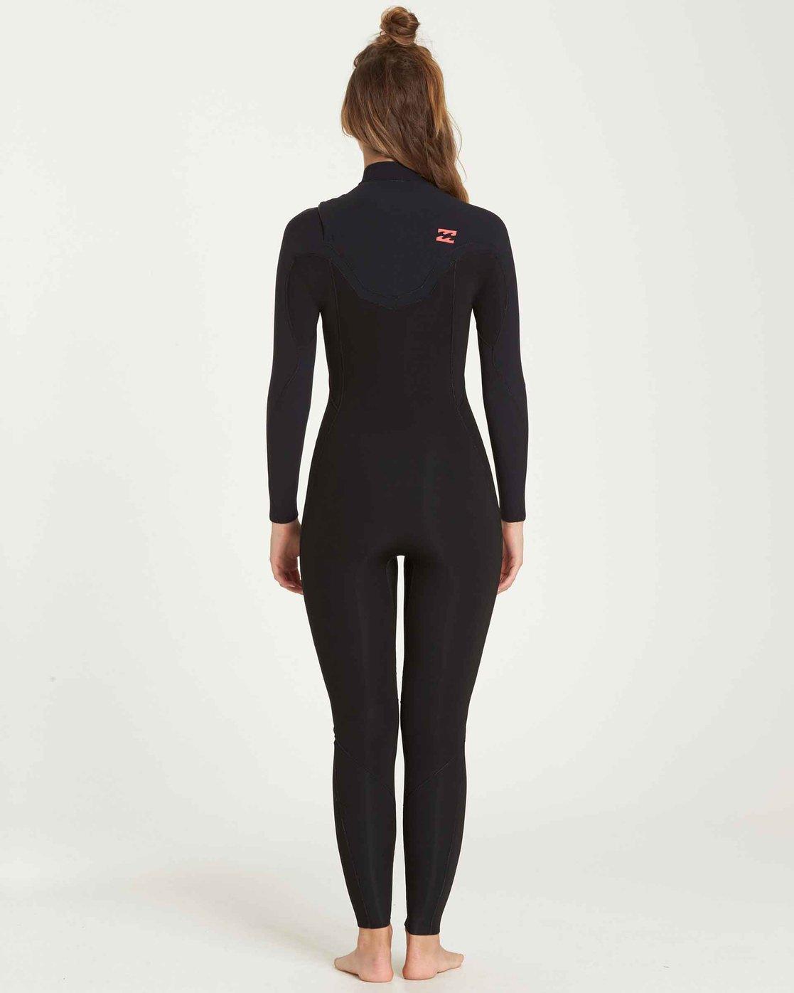 Billabong 3//2 Furnace Carbon Comp Chest Zip Full Wetsuit Mens