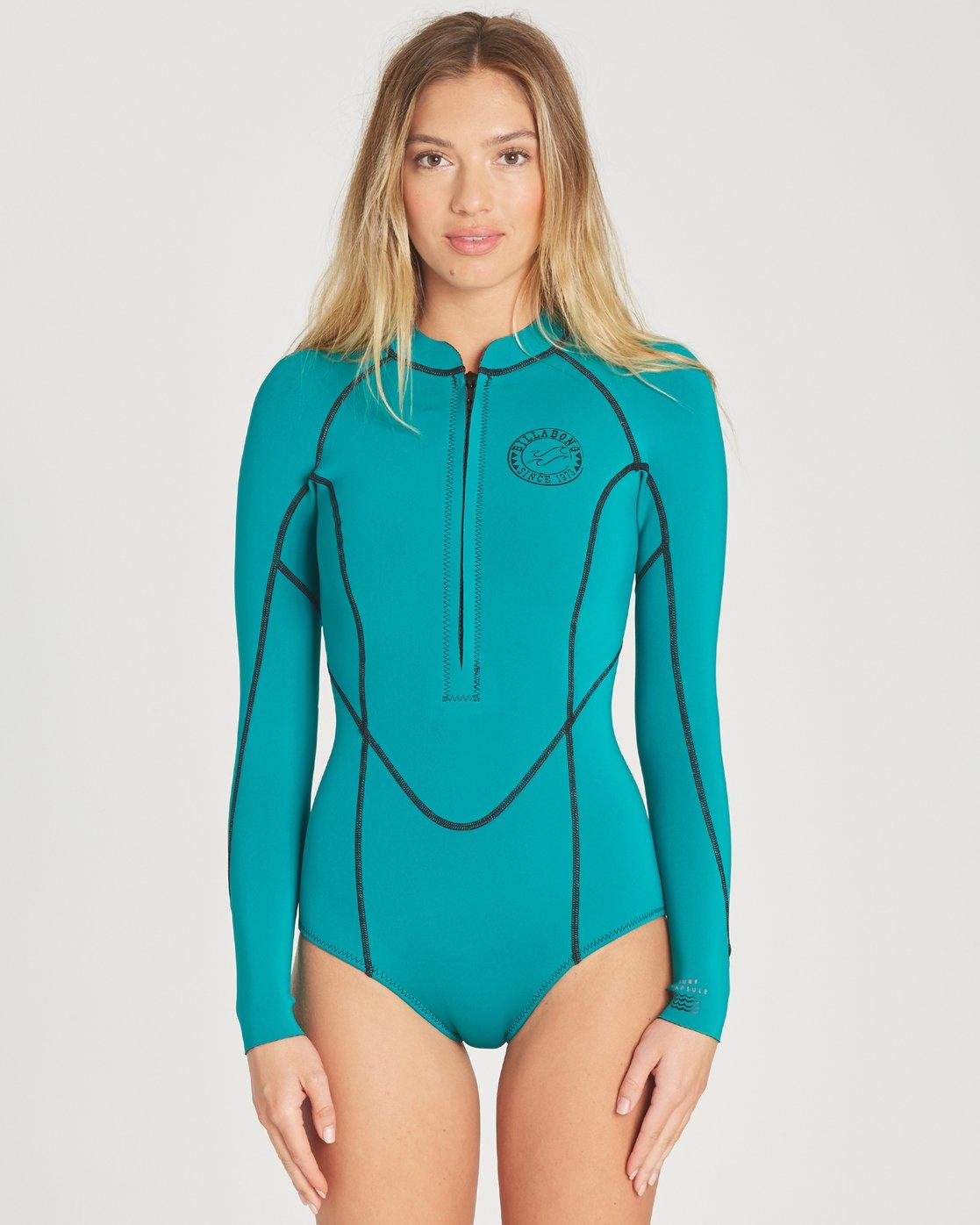 NWT 105$ Billabong Salty Dayz L//s Spring Wetsuit Long sleeves Geometric
