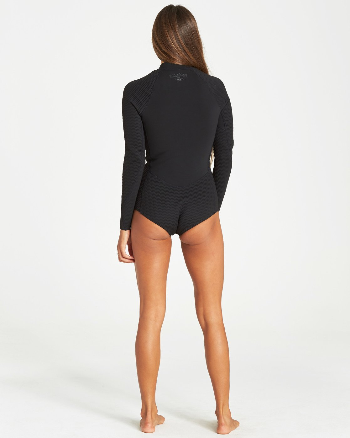 Langarm Samba BILLABONG Damen Salty DayZ 2mm Shorty Neoprenanzug Damen Langarm Springsuit Neoprenanzug