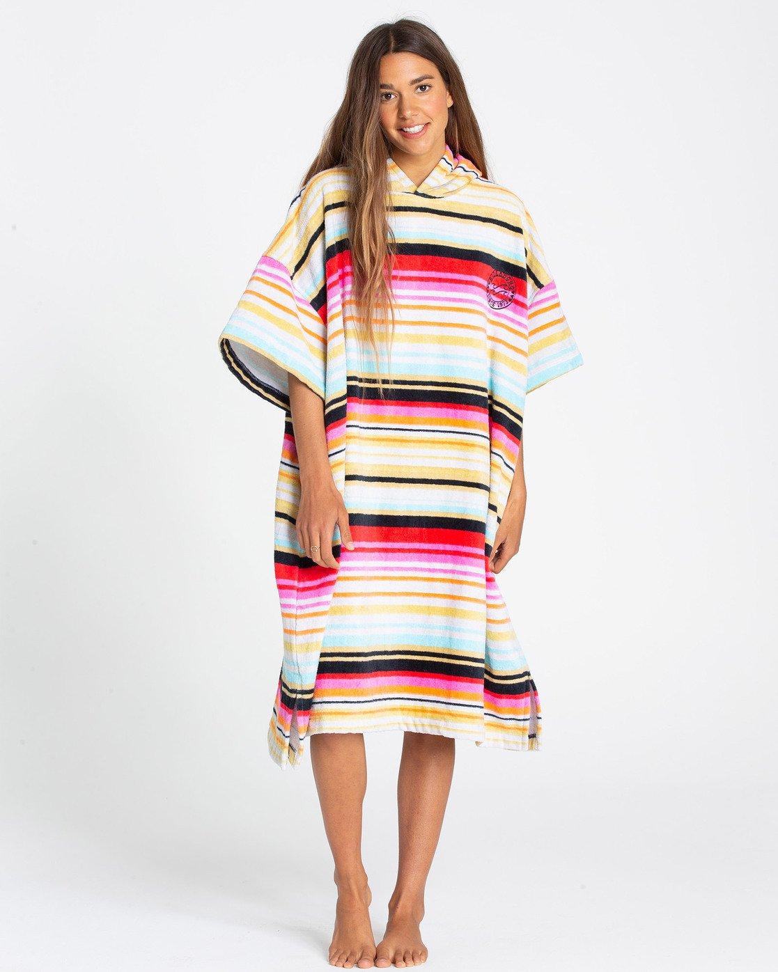 Billabong Poncho Hoodie Womens Towel