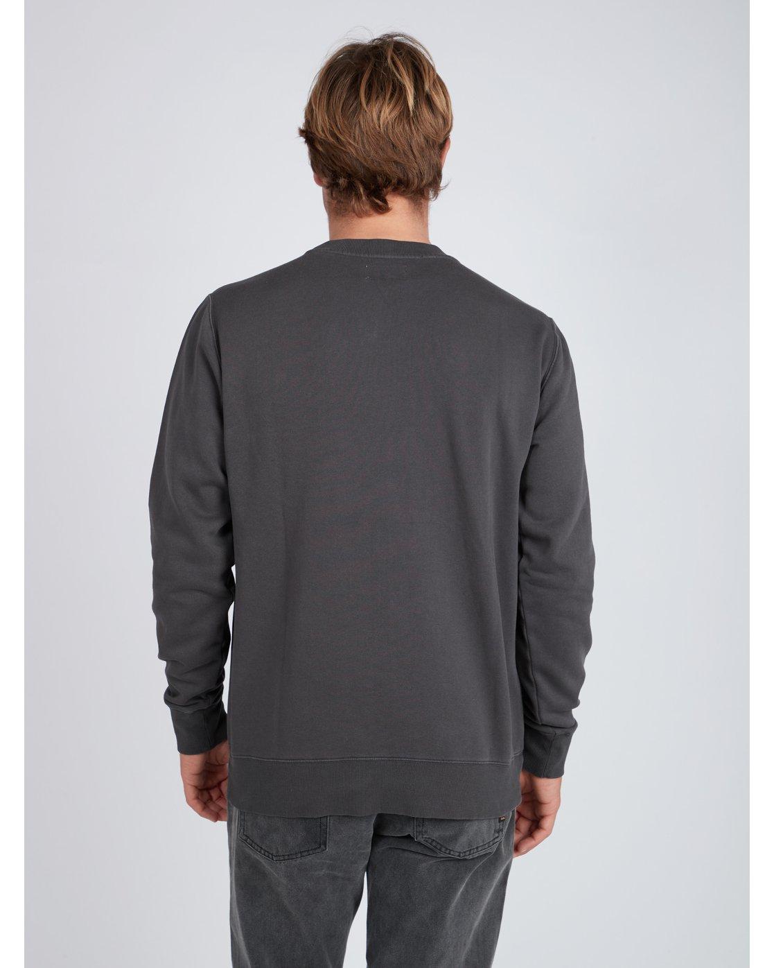 2345dbdb9c95 4 Wave Wash Crew Sweatshirt Black L1FL04BIF8 Billabong