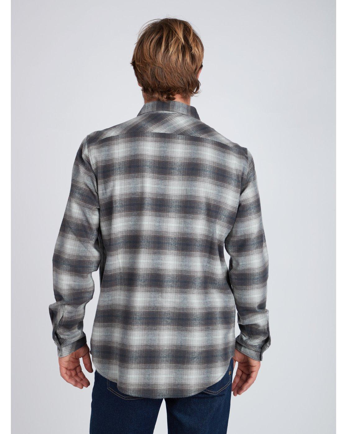 65e52646e 6 Coastline Flannel Shirt Black L1SH04BIF8 Billabong