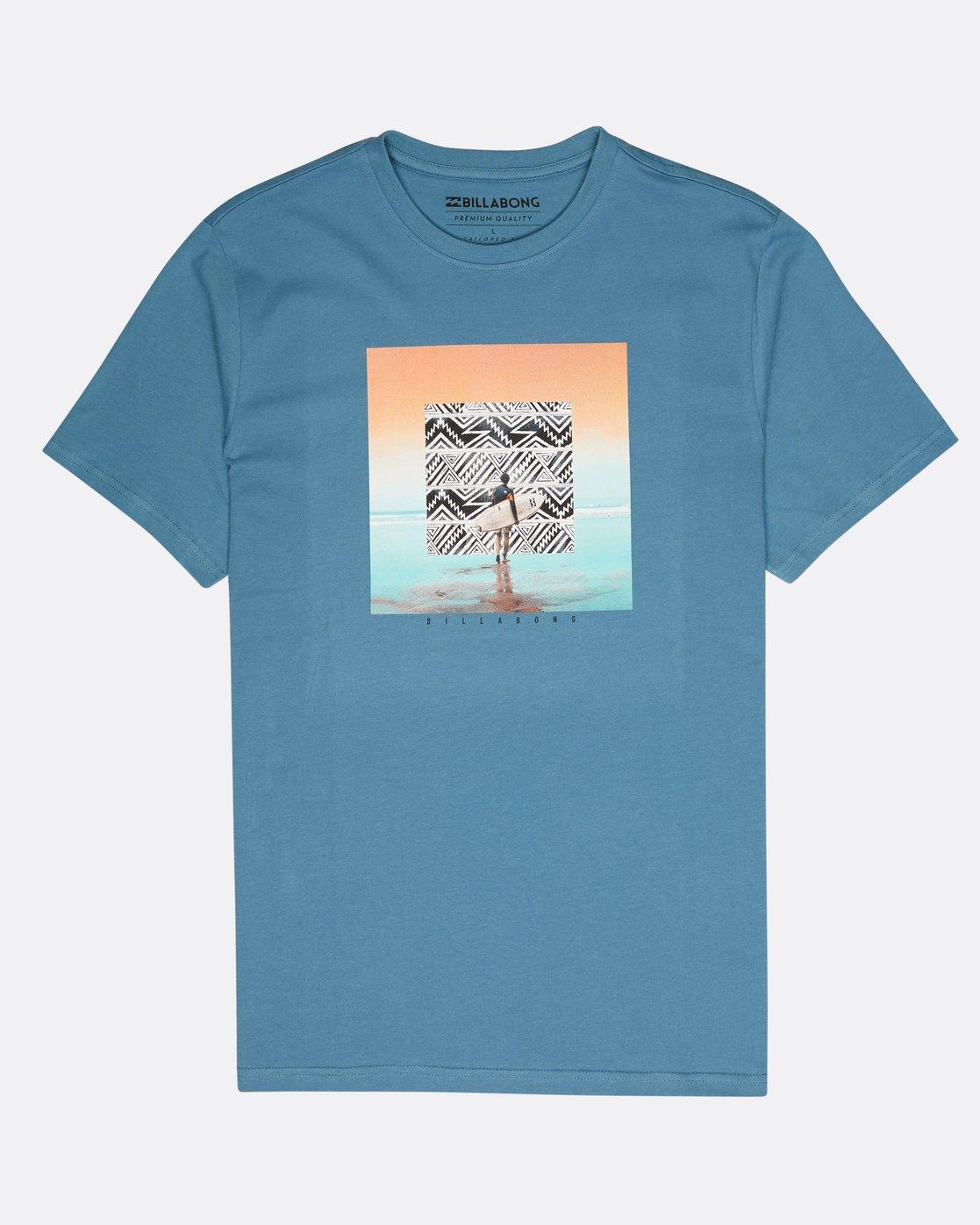 b9bb14d7ef87 0 Framed T-Shirt Blue L1SS11BIF8 Billabong