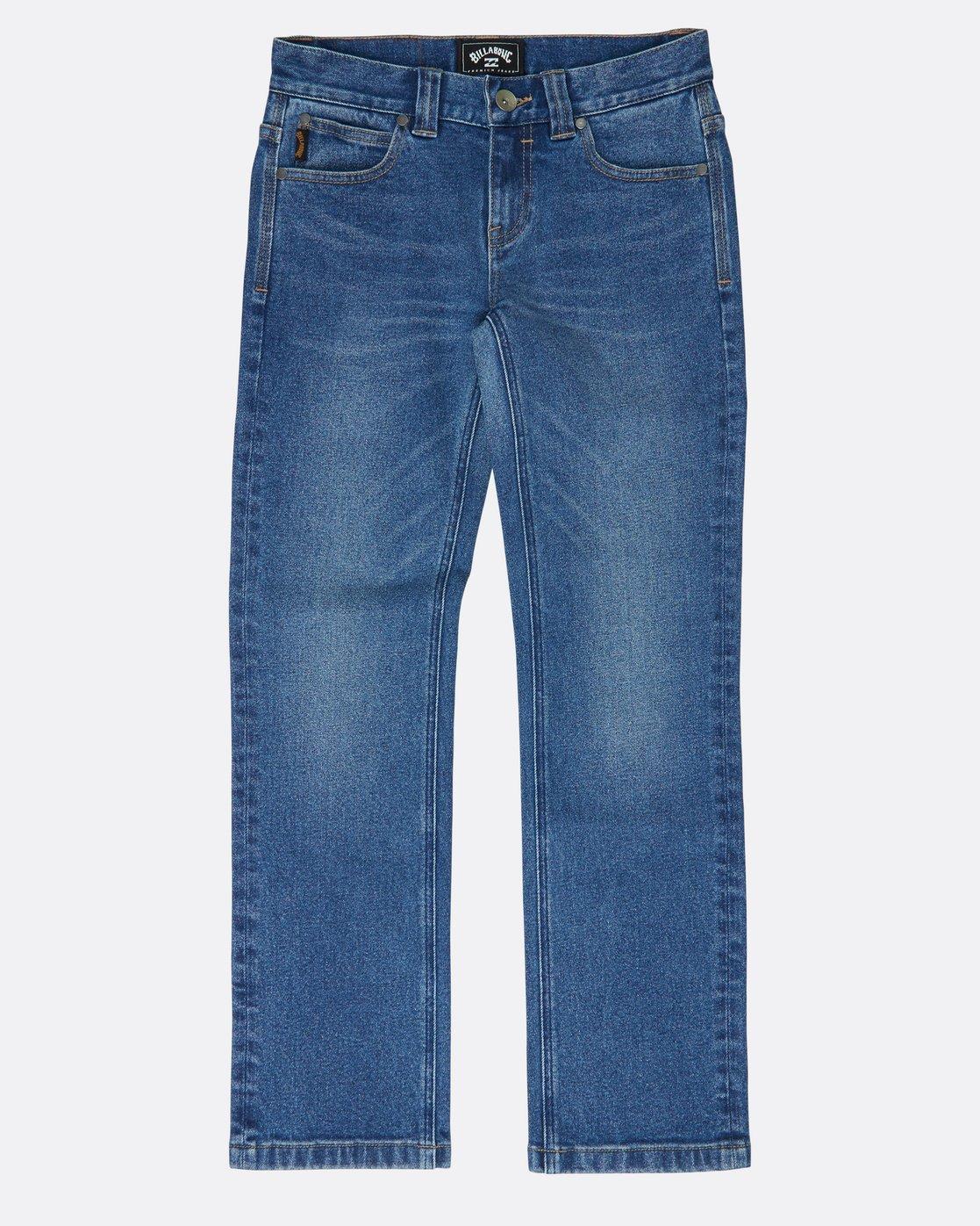 adcce1472 0 Boys Outsider Jeans Blue L2PN02BIF8 Billabong