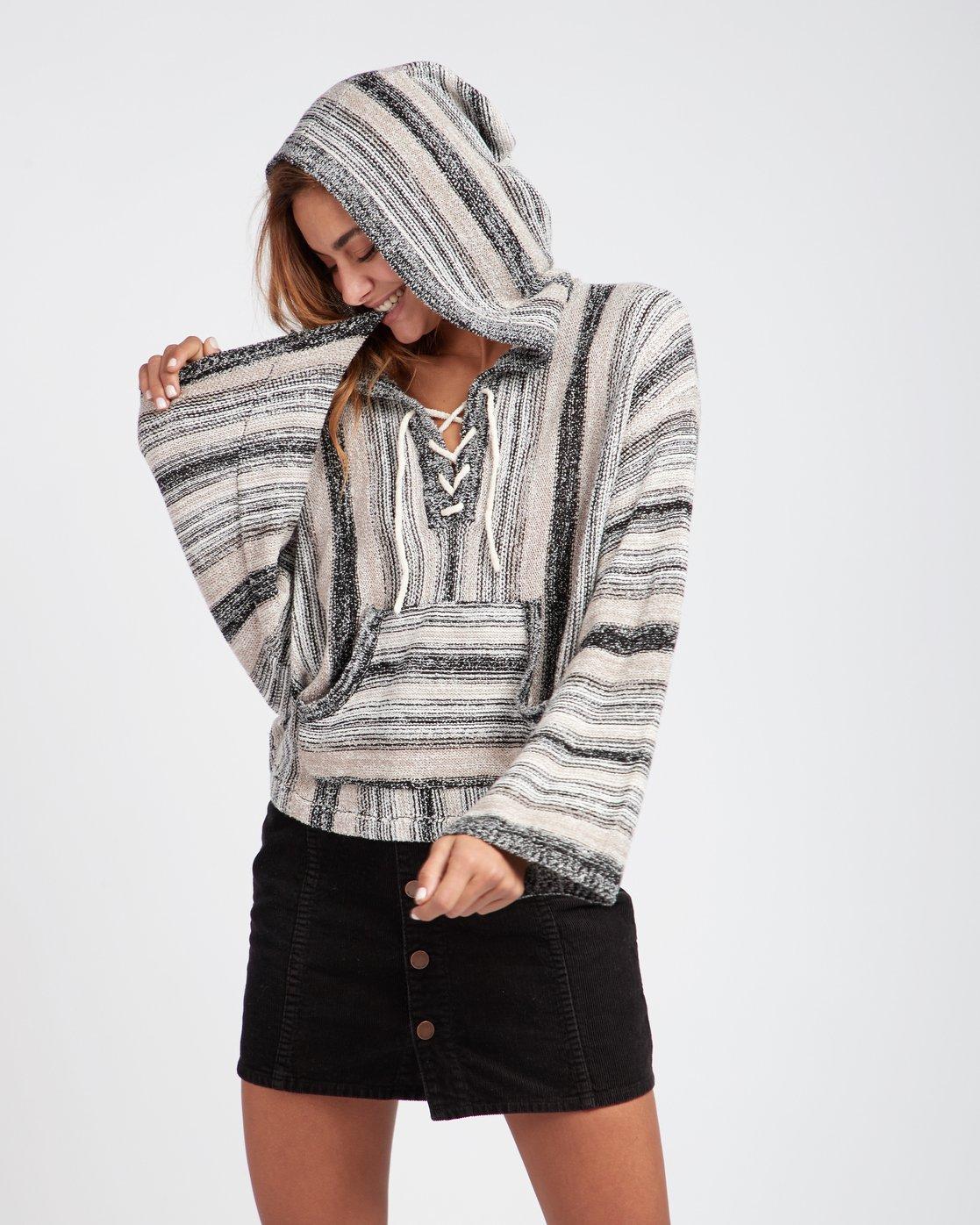 78c5f8278a 0 Baja Beach 2 Striped Hooded Sweater L3JP10BIF8 Billabong