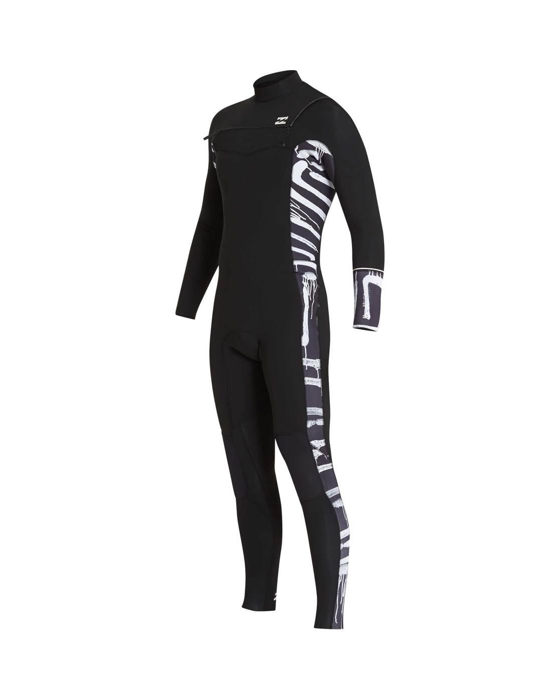 5 4 Furnace Revolution Chest Zip Wetsuit 3664564222956