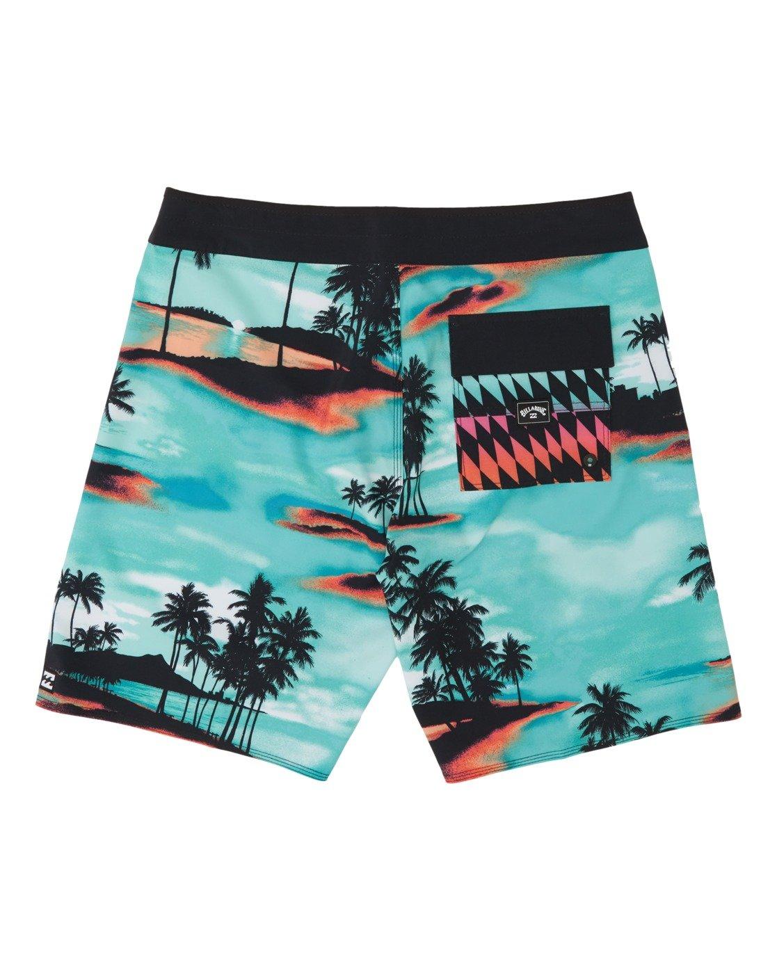 """Billabong Sundays Airlite 18/"""" Board Shorts Neon"""