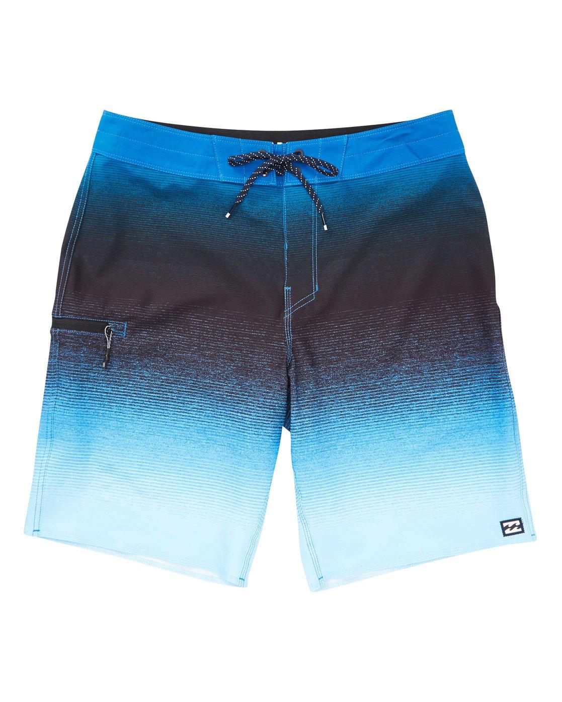 07947318f3 0 Fluid Airlite Boardshorts Blue M104TBFL Billabong