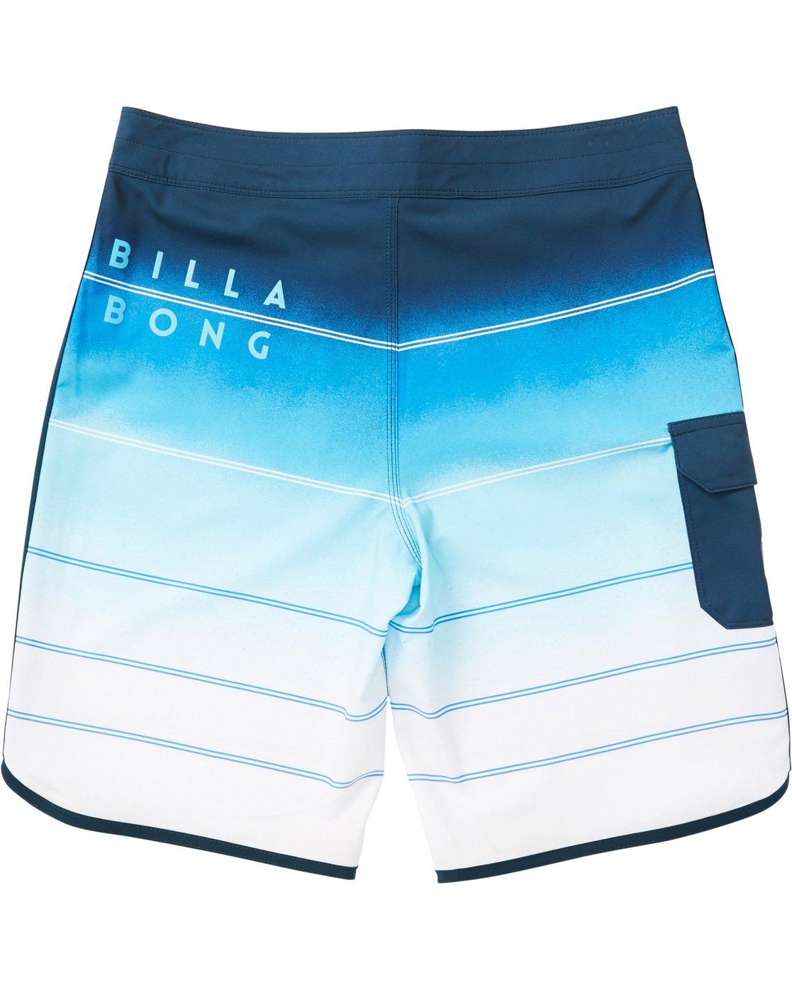 2d6a8d0c42 1 73 X Stripe Boardshorts Blue M129NBSS Billabong