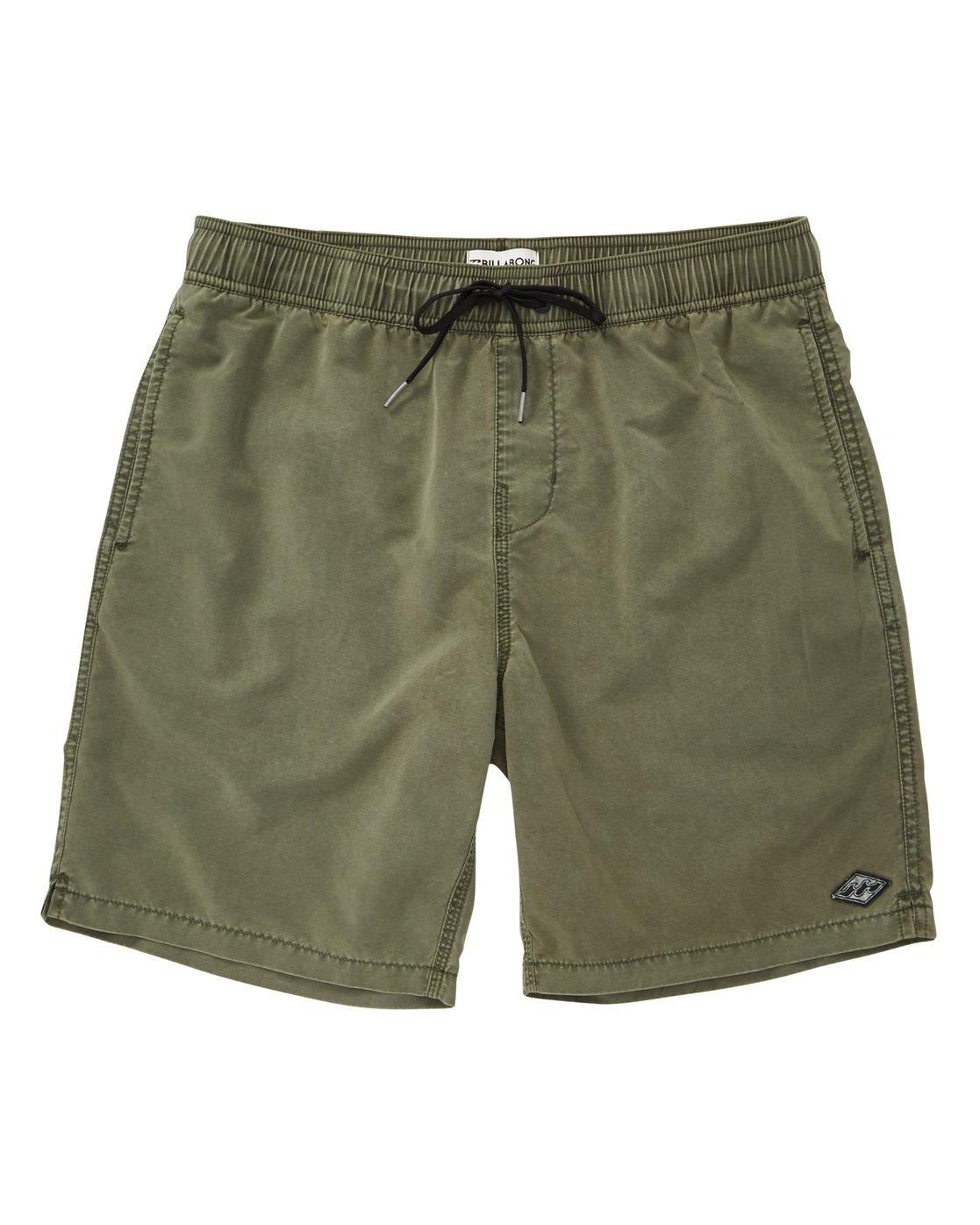 57fa1086d 0 All Day Layback Boardshorts Green M182TBAD Billabong