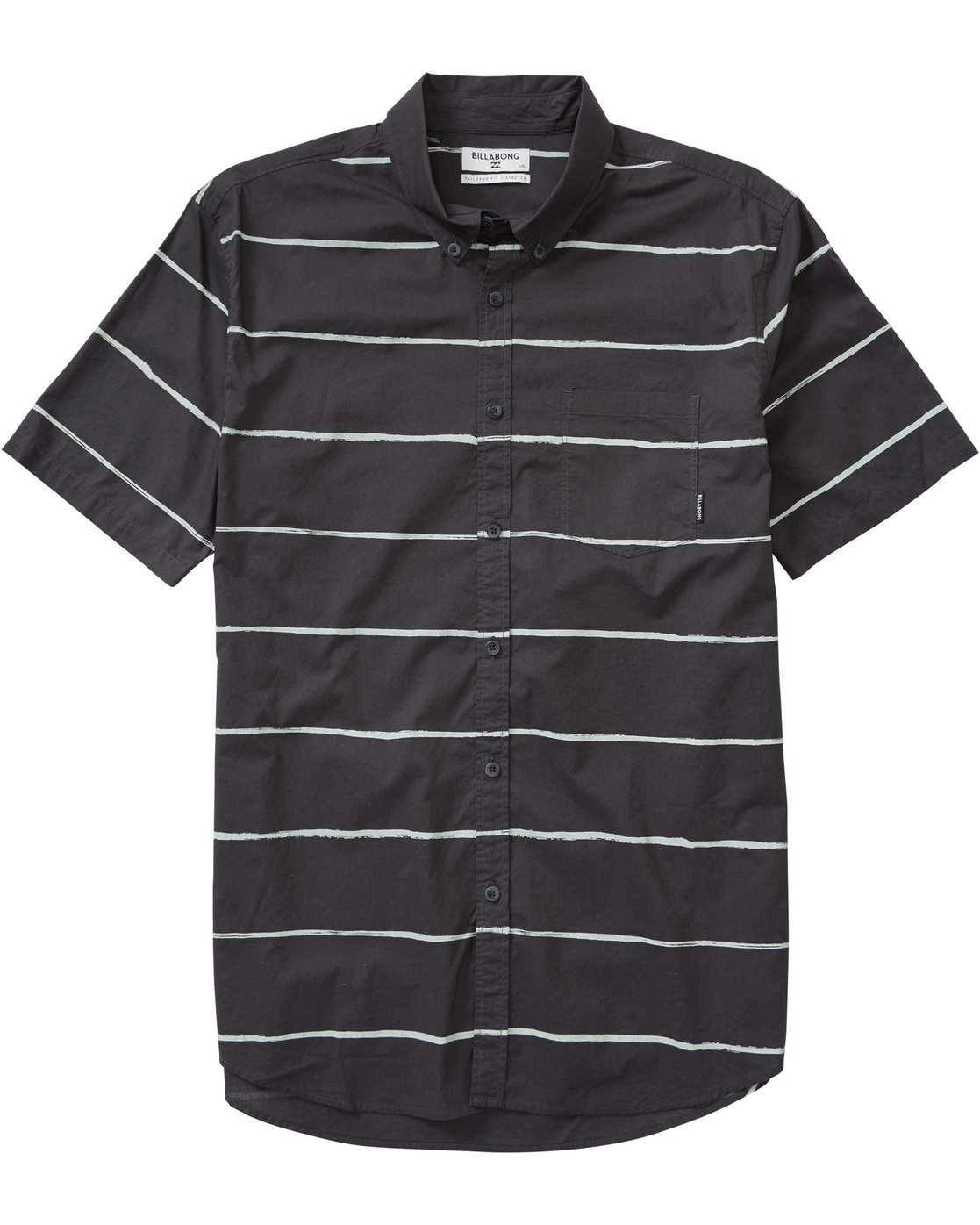 Billabong Mens Sundays Lines Short Sleeve Shirt