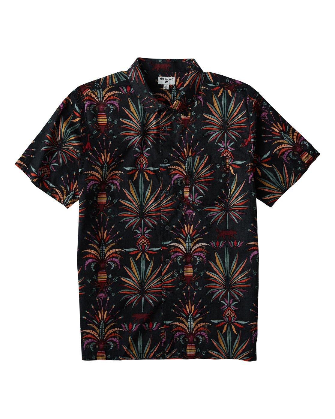 69489dd3 Sundays Floral Short Sleeve Shirt