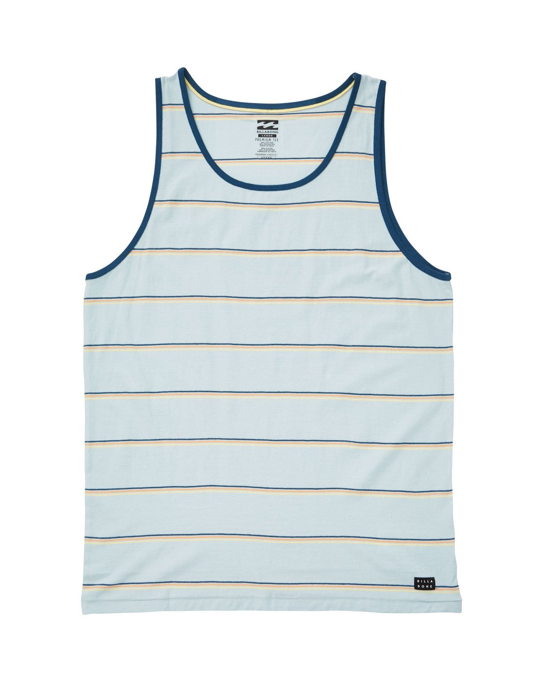 8a66b425847ff 0 Die Cut Tank Blue M907TBDT Billabong