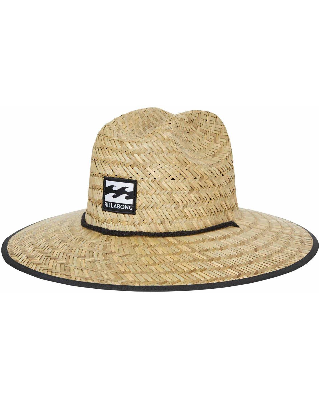 f3608067a87ae6 0 Tides Print Straw Hat MAHTJTIP Billabong