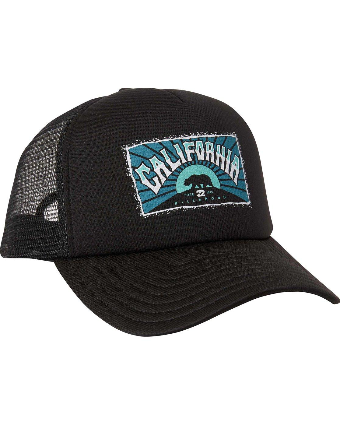 7cf4103e52f3e 2 Republic California Trucker Hat MAHTLRCA Billabong