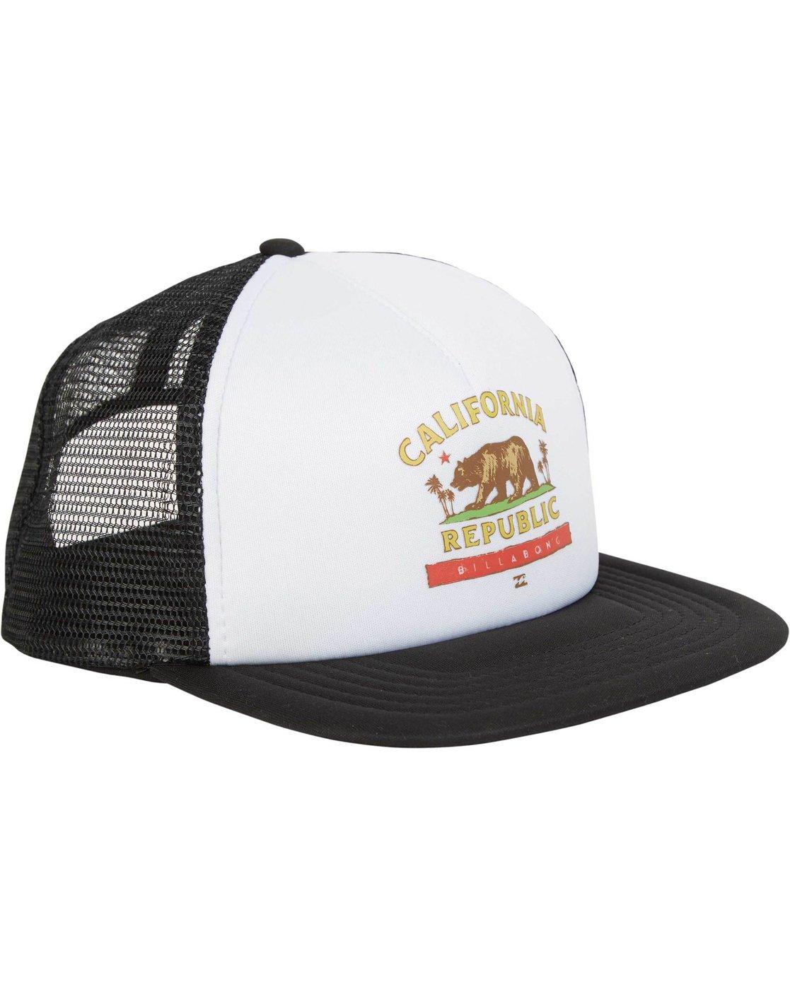 778589f87b6c2 2 California Trucker Hat MAHWNBCA Billabong