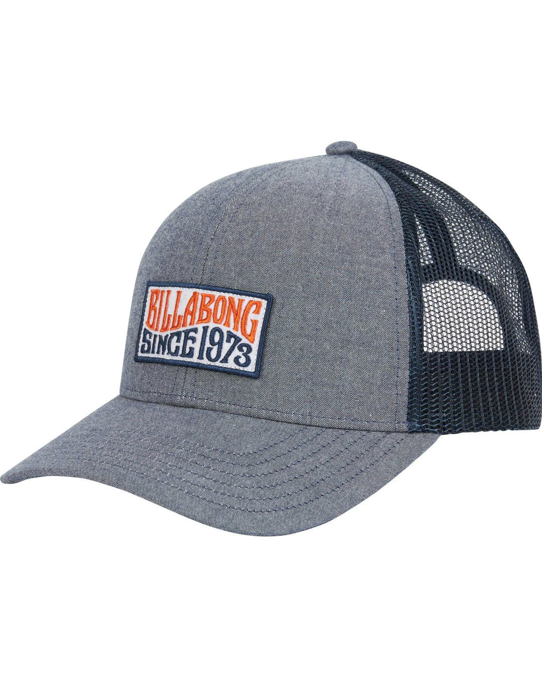 536cf3f1683c86 0 Walled Trucker Hat Blue MAHWNBWA Billabong