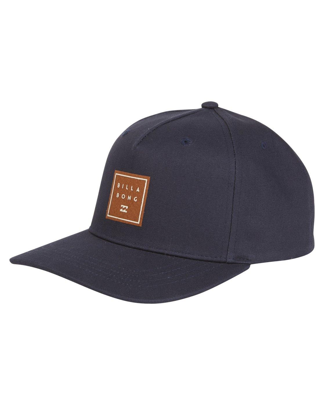 Tan Navy New Billabong All Day Snapback Hat