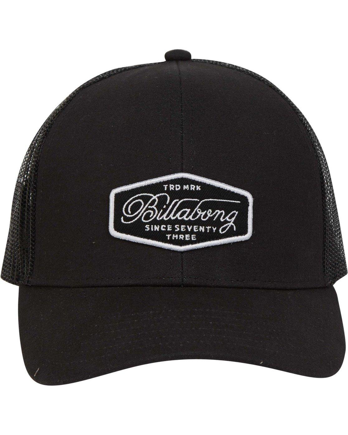 Billabong Mens Walled Trucker Hat Grey One Size