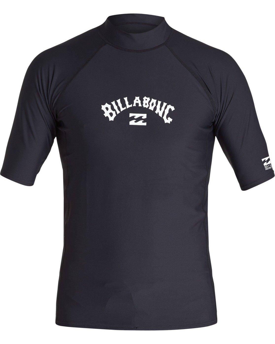 Billabong Mens Union Performance Fit Short Sleeve Rashguard