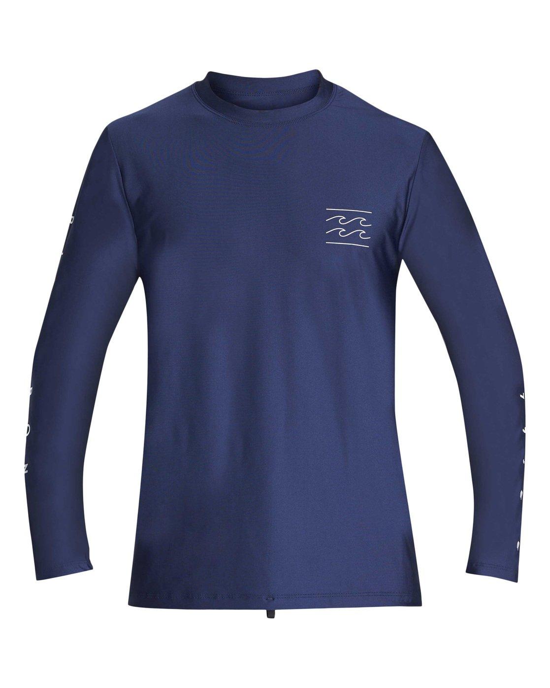 1641321009 0 Unity Loose Fit Long Sleeve Rashguard Blue MR55TBUL Billabong
