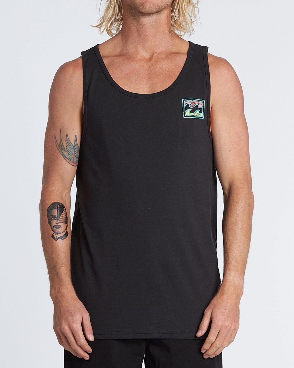 Billabong Fury Tank Tank Top Tank-Top Shirt lockeres Unterhemd W1 JE10 BIP6 0804