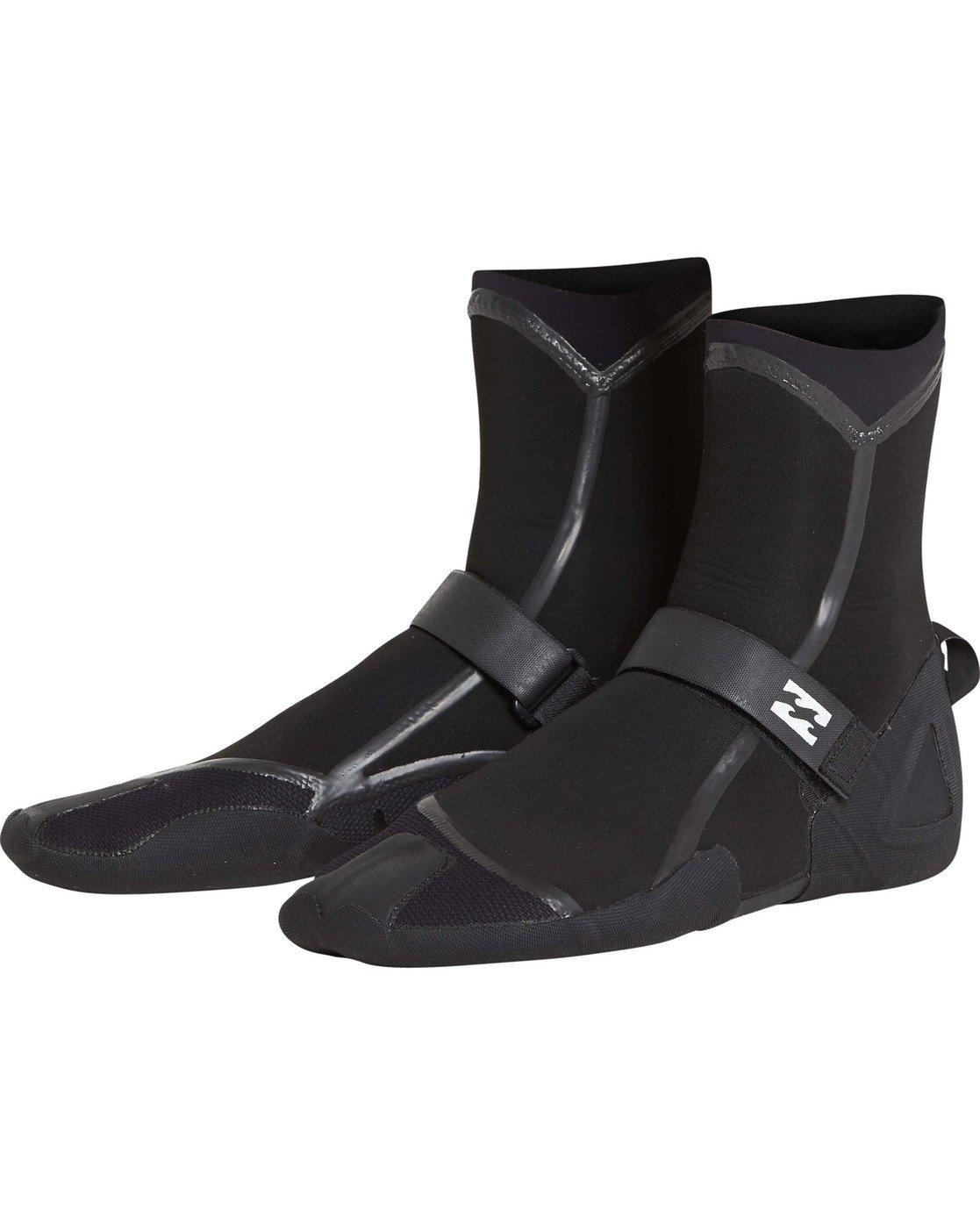 Billabong 5mm Furnace Carbon Ultra Split Toe Boot Black