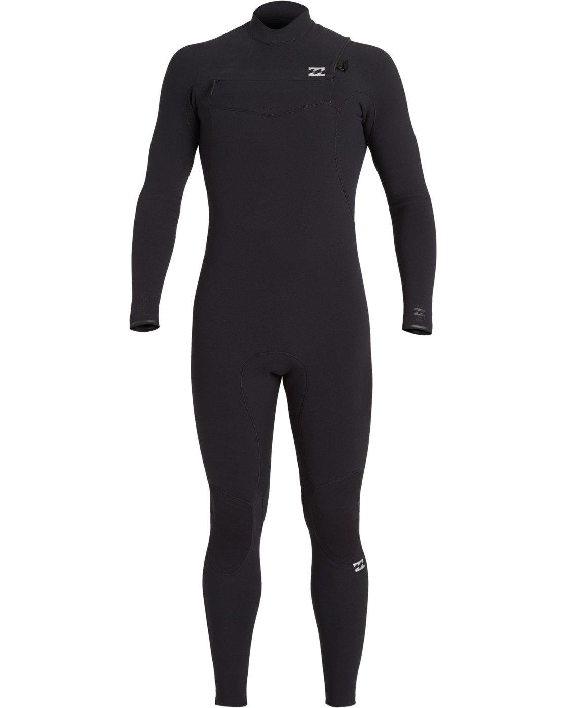 Billabong Boys Foil 3//2 Back Zip Sealed Seam Full Wetsuit