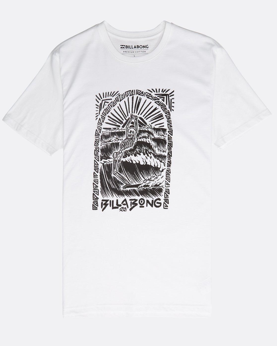 N1ss33bip9Billabong T Shirt Dead Walk Walk T Shirt Dead 5RjL34Aq