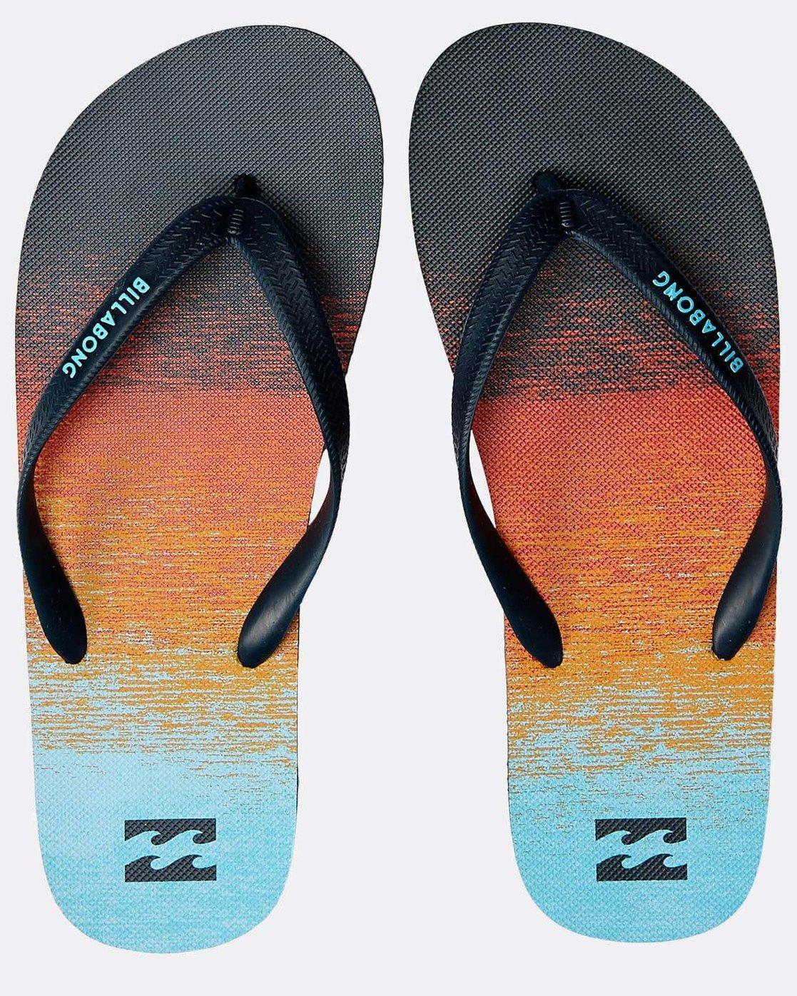d97ca1ea8ac6ab 0 Boys' Tides 73 Stripes Sandals Orange N2FF01BIP9 Billabong