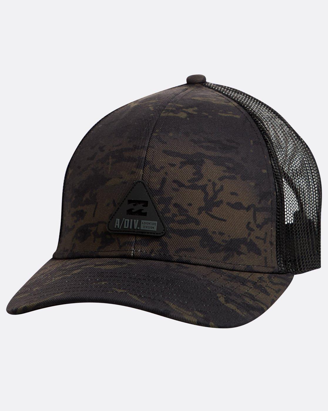 ecc9cfb77c5a2 0 Multicam Trucker Hat Black N5CT05BIP9 Billabong