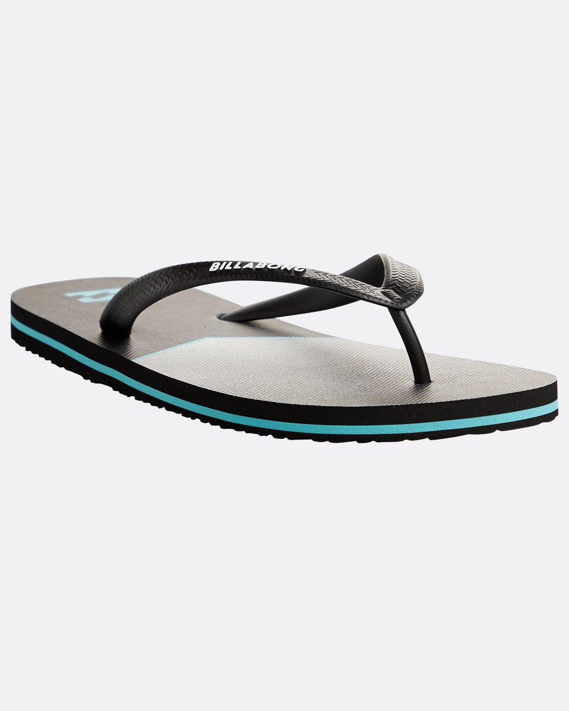 34d2a28bfa06 4 Tides Northpoint Sandals Black N5FF04BIP9 Billabong