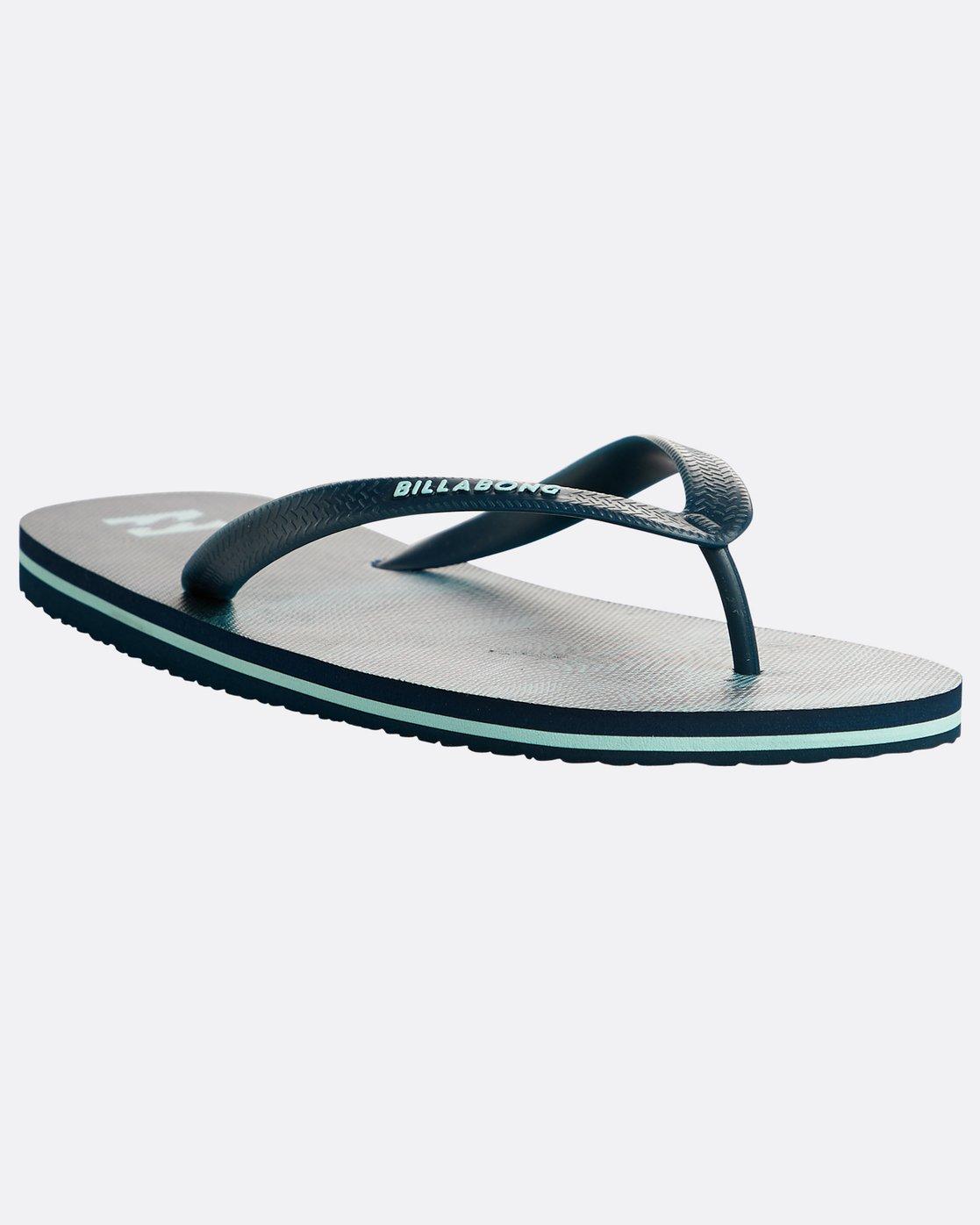 Billabong Mens Flip Flops ~ Tides Resistance mint