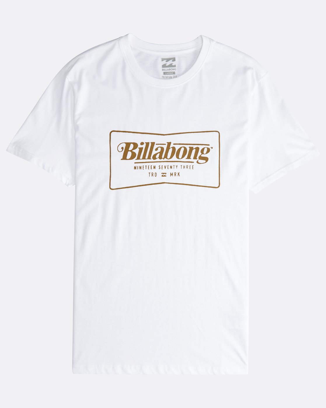 Billabong Trademark Mens T-shirt Black All Sizes