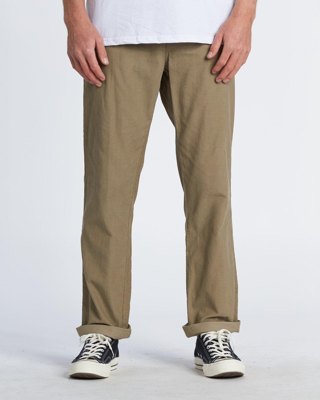 Larry Cord Pantalones De Pana Para Hombre S1pt04bip0 Billabong
