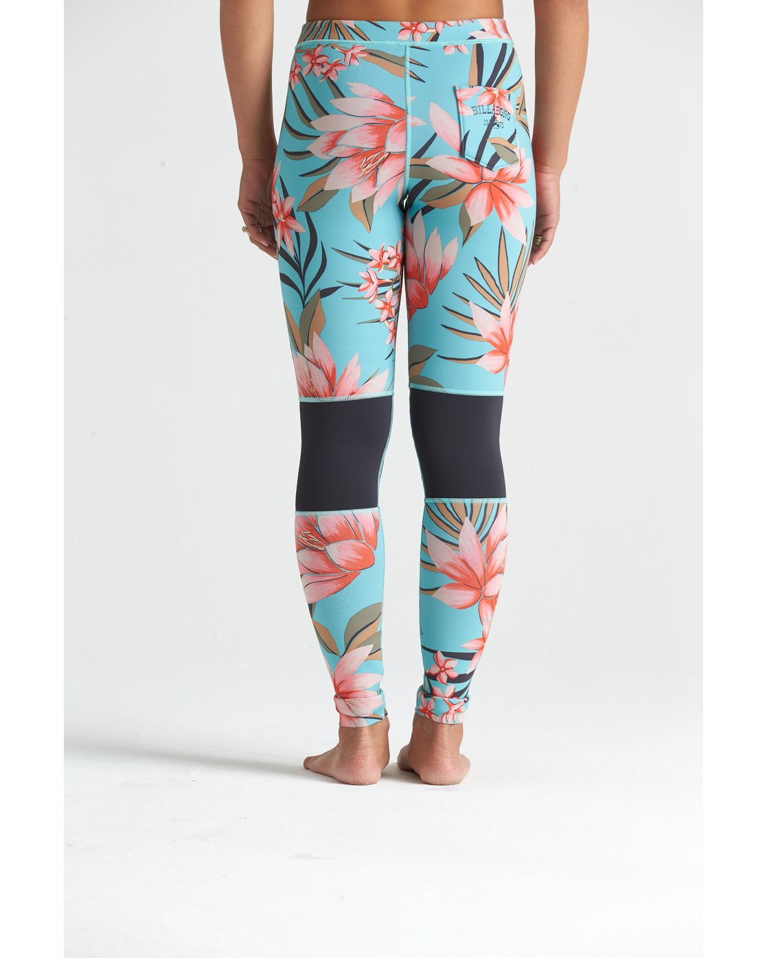 1mm Skinny Sea Legs Legging de surf pour Femme