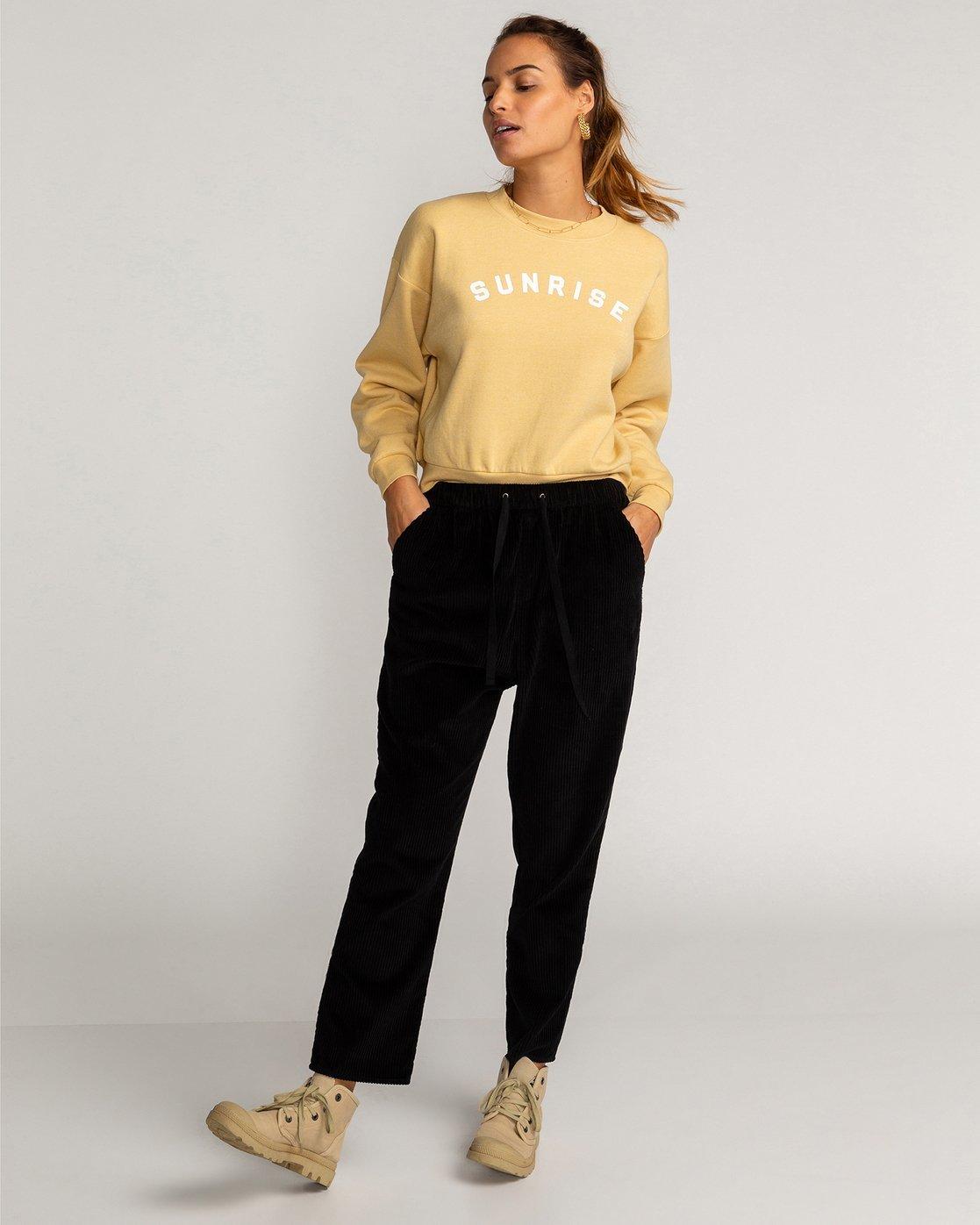 Cascade Pantalon De Pana Para Mujer U3pt03bif0 Billabong