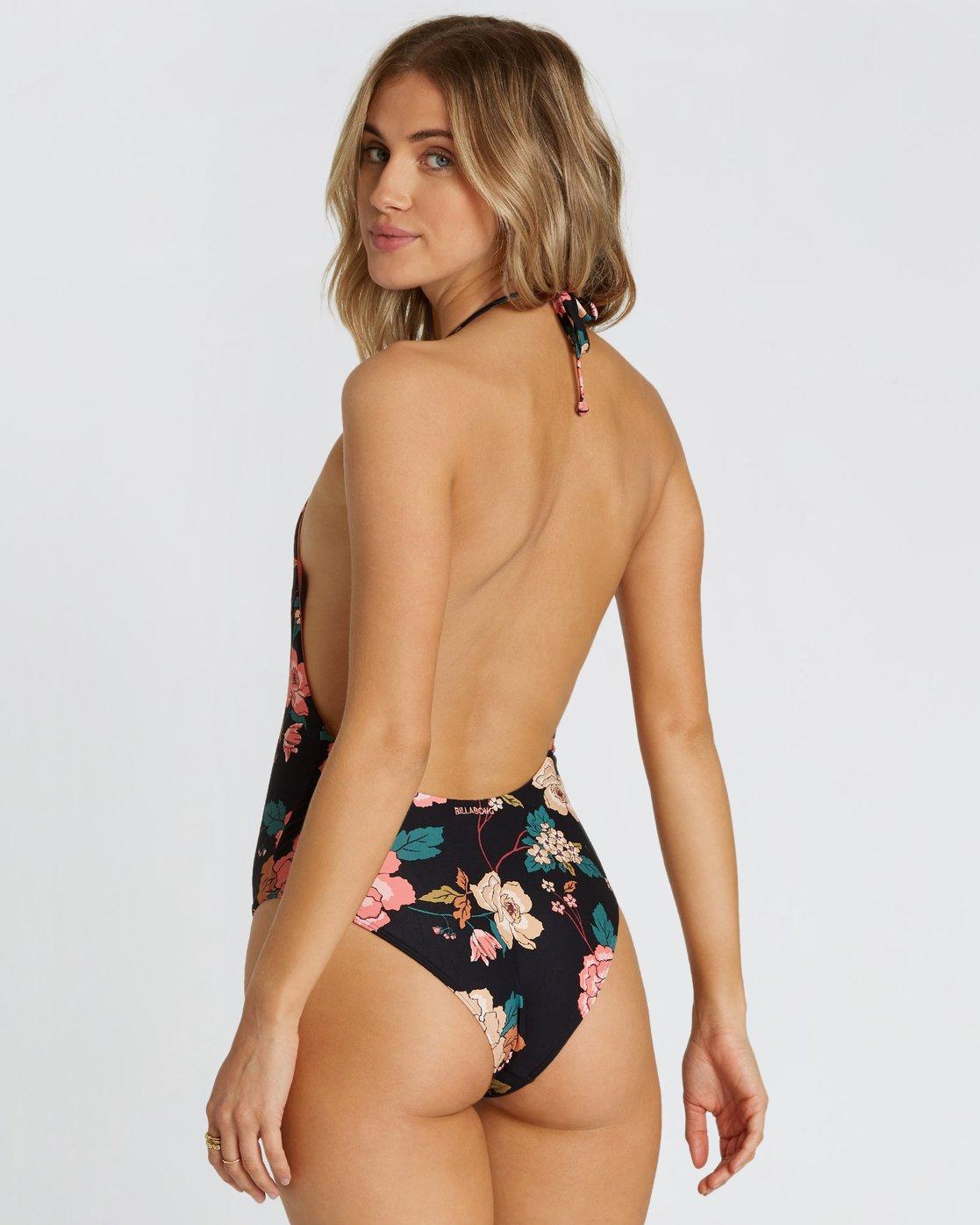 Billabong Womens Linger on One Piece Swimsuit