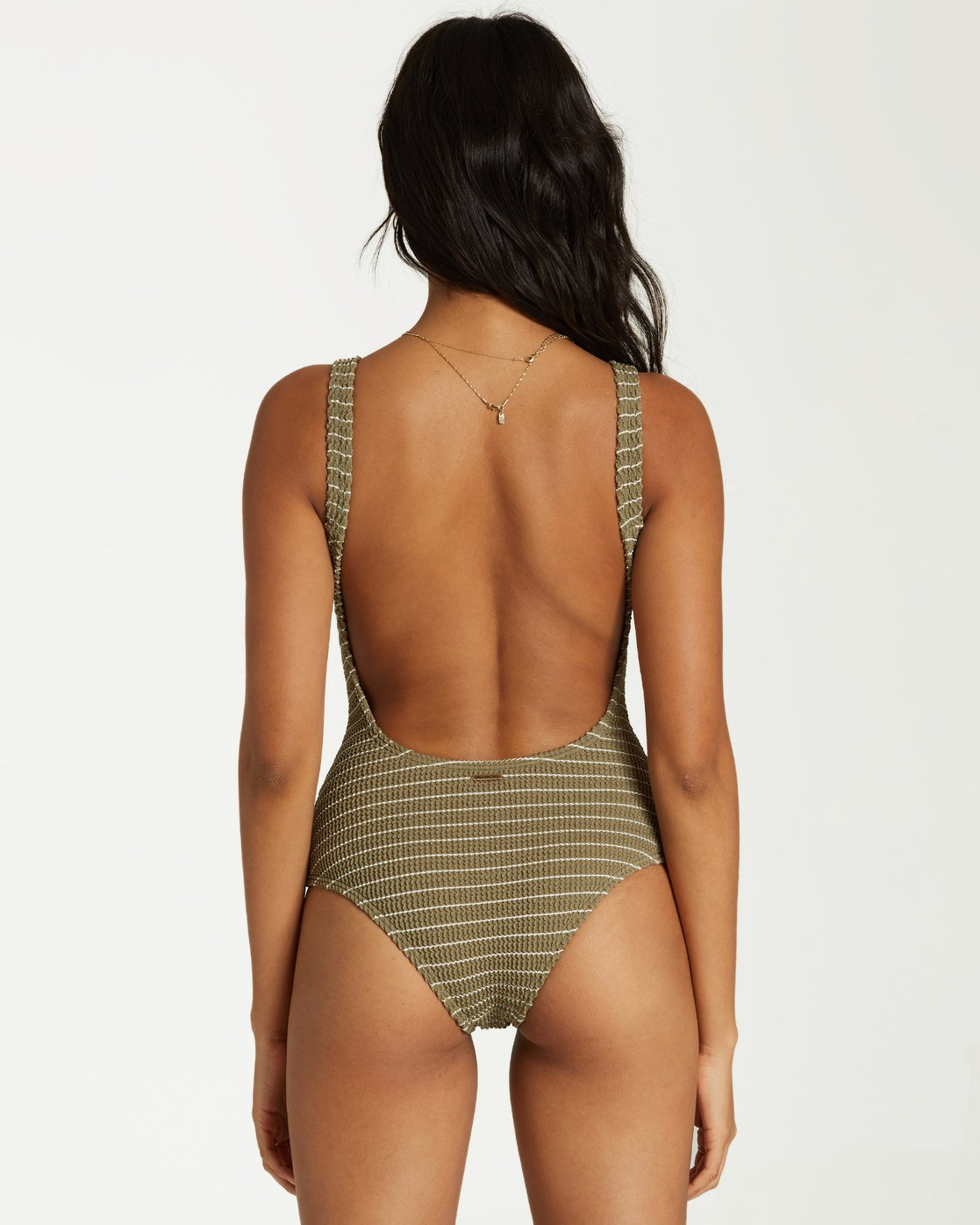 Summer High One Piece Swim