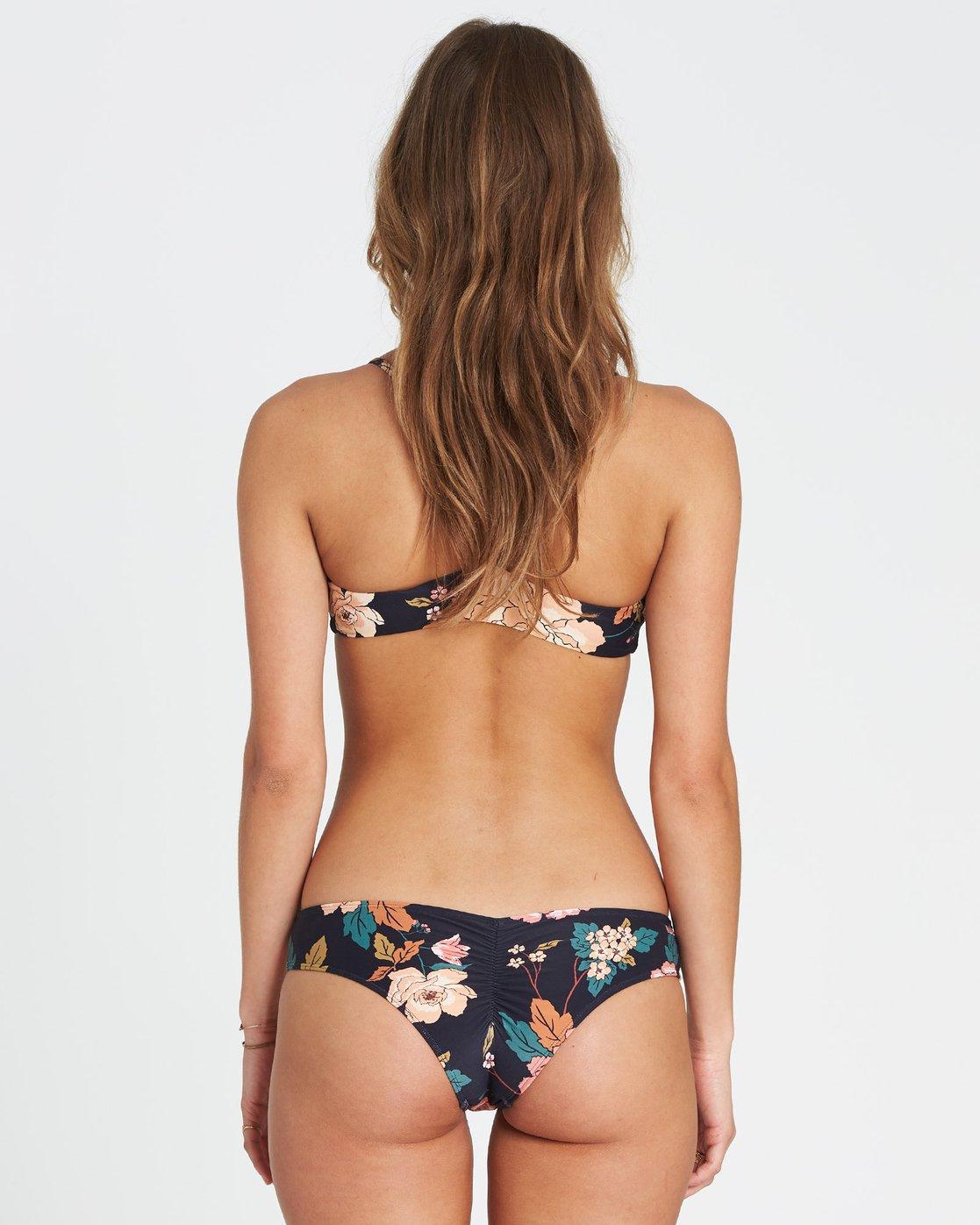 508d00d59e9 0 Linger On Hawaii Lo Cheeky Bikini Bottom Black XB17SBLI Billabong
